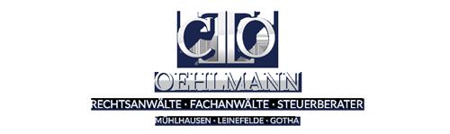 Steuerberater Gotha – OEHLMANN – Fachanwaelte Logo